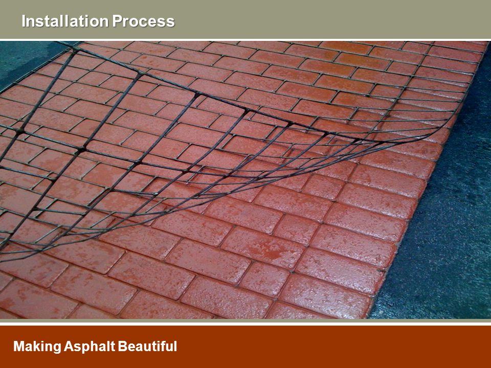 Installation Process Making Asphalt Beautiful