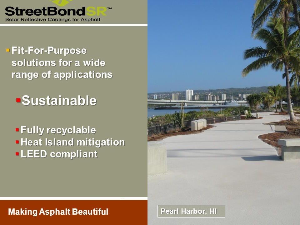 Sustainable Fit-For-Purpose solutions for a wide range of applications