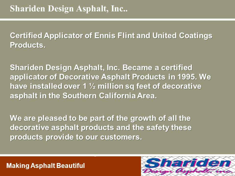 Shariden Design Asphalt, Inc..