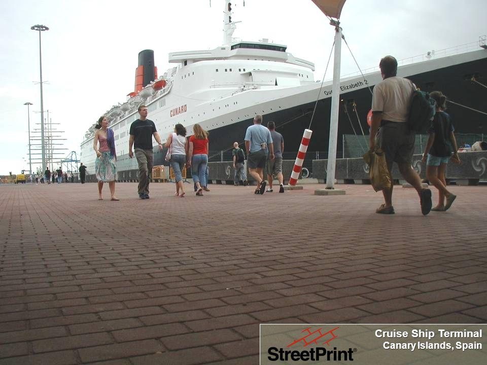 Cruise Ship Terminal Canary Islands, Spain