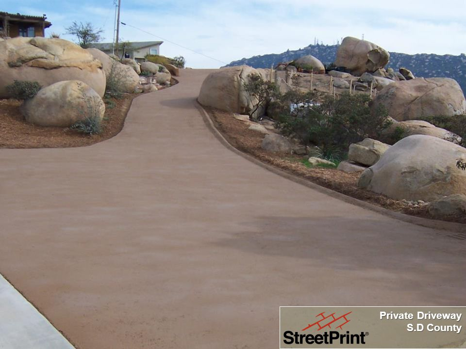 Private Driveway S.D County