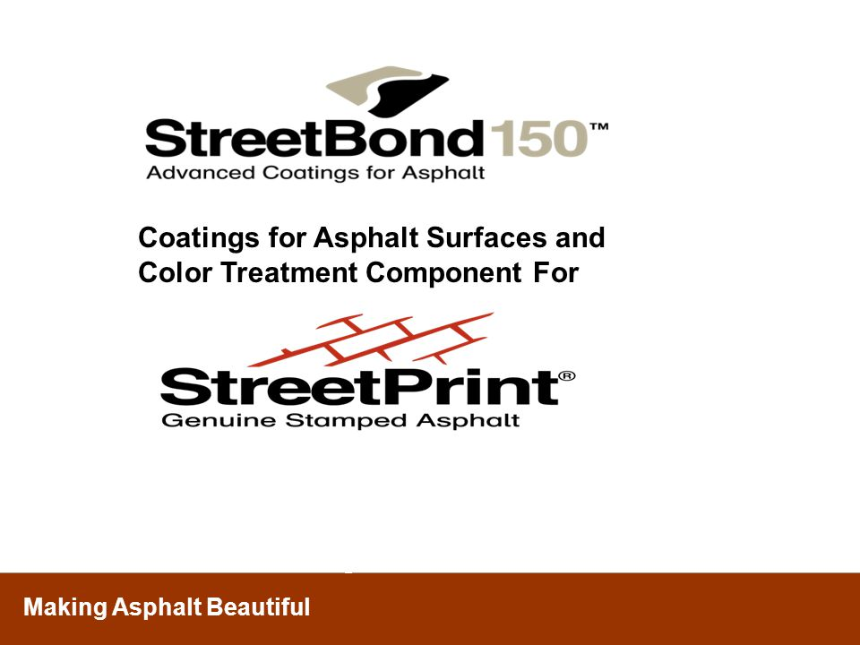 Coatings for Asphalt Surfaces and