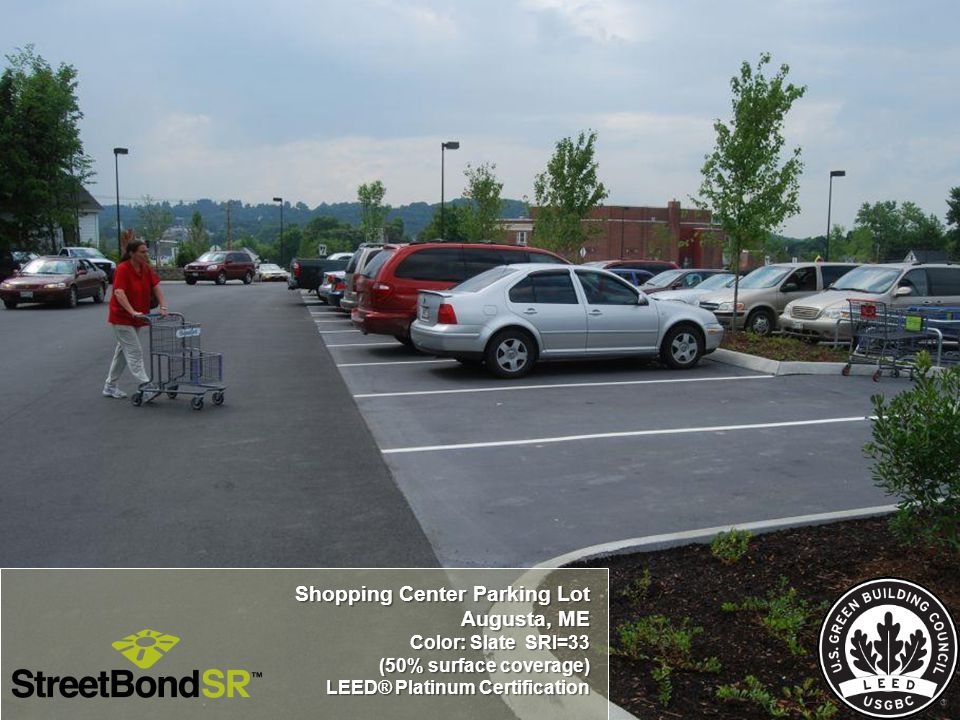 Shopping Center Parking Lot Augusta, ME