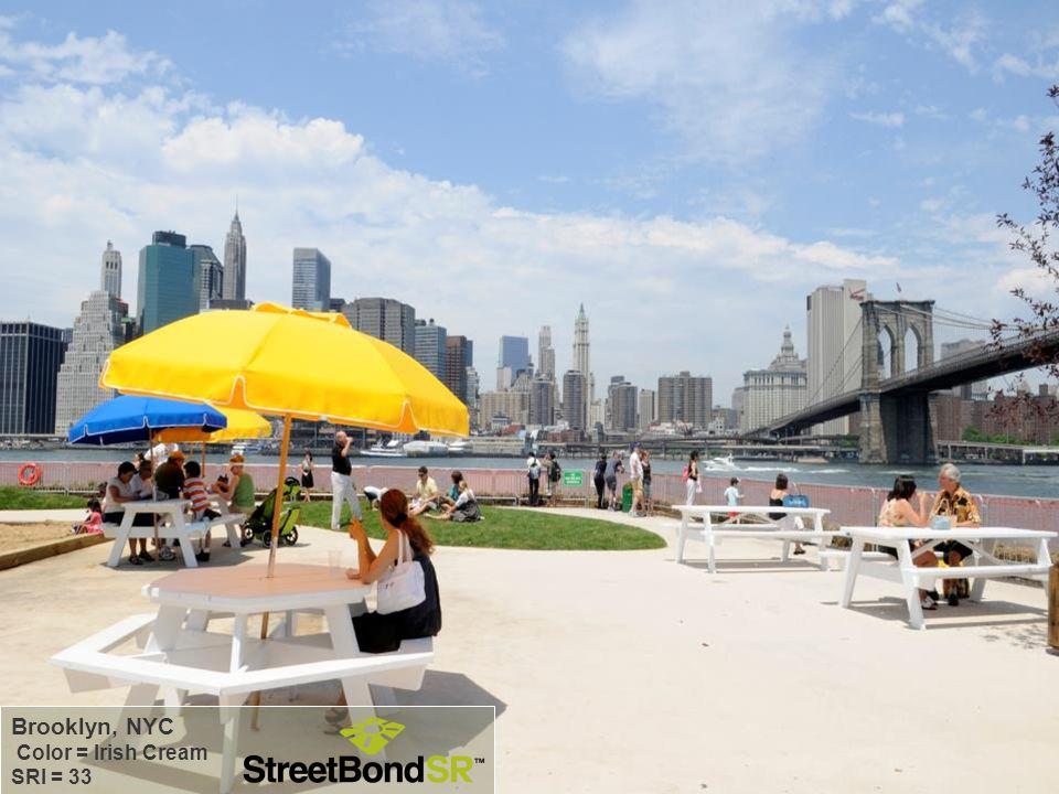Brooklyn, NYC Color = Irish Cream SRI = 33 78