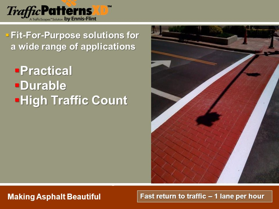 Practical Durable High Traffic Count