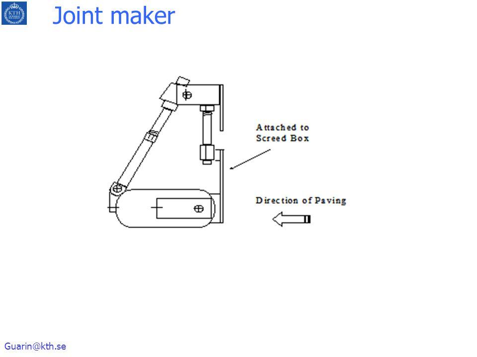 Joint maker