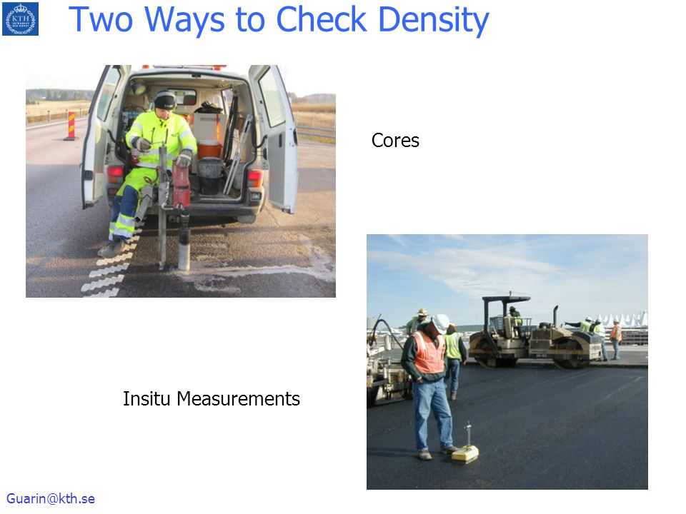 Two Ways to Check Density