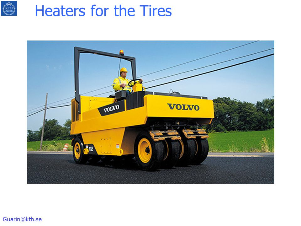 Heaters for the Tires