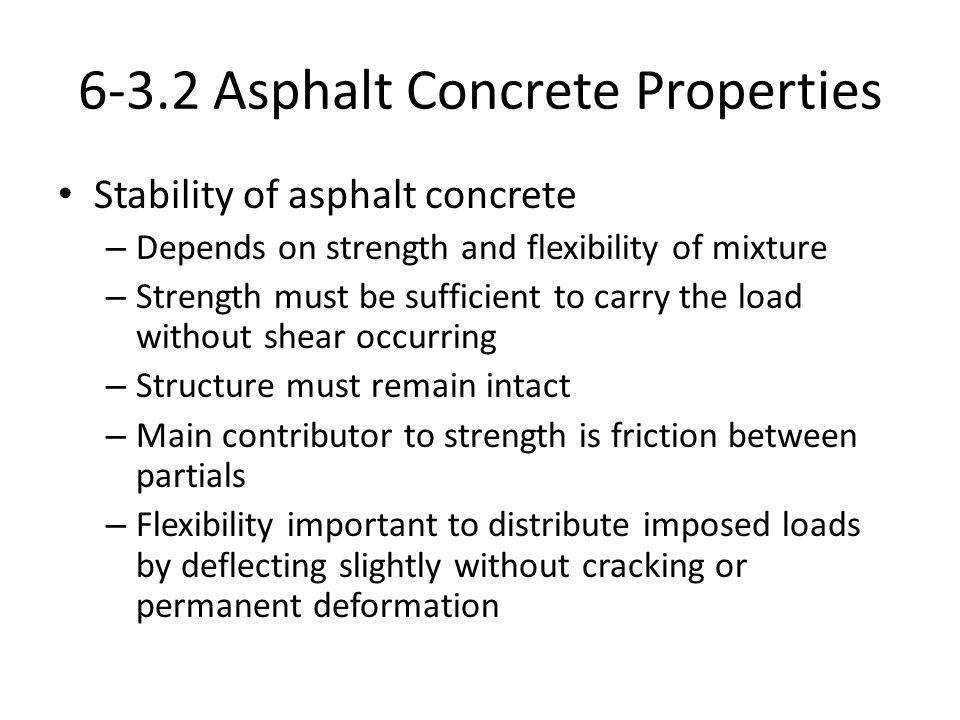 6-3.2 Asphalt Concrete Properties