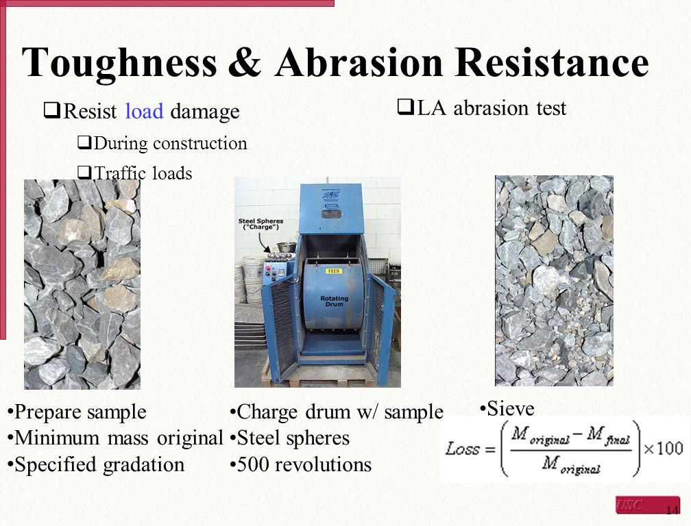 Toughness & Abrasion Resistance