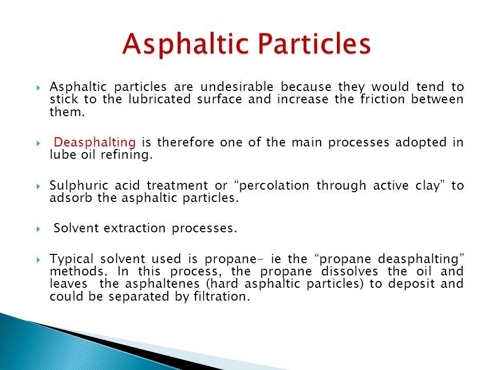 Asphaltic Particles