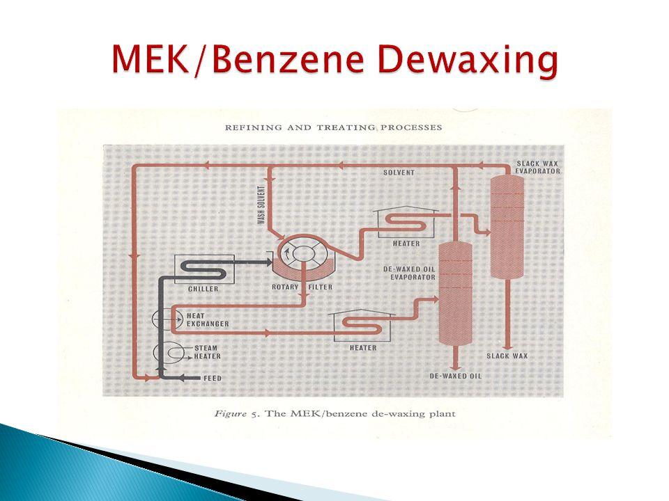 MEK/Benzene Dewaxing