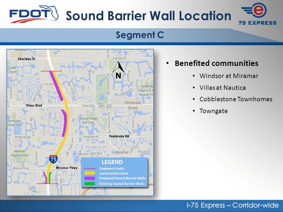 Sound Barrier Wall Location