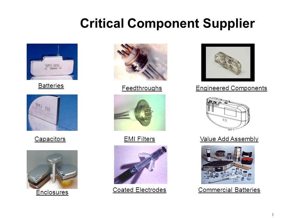 Critical Component Supplier