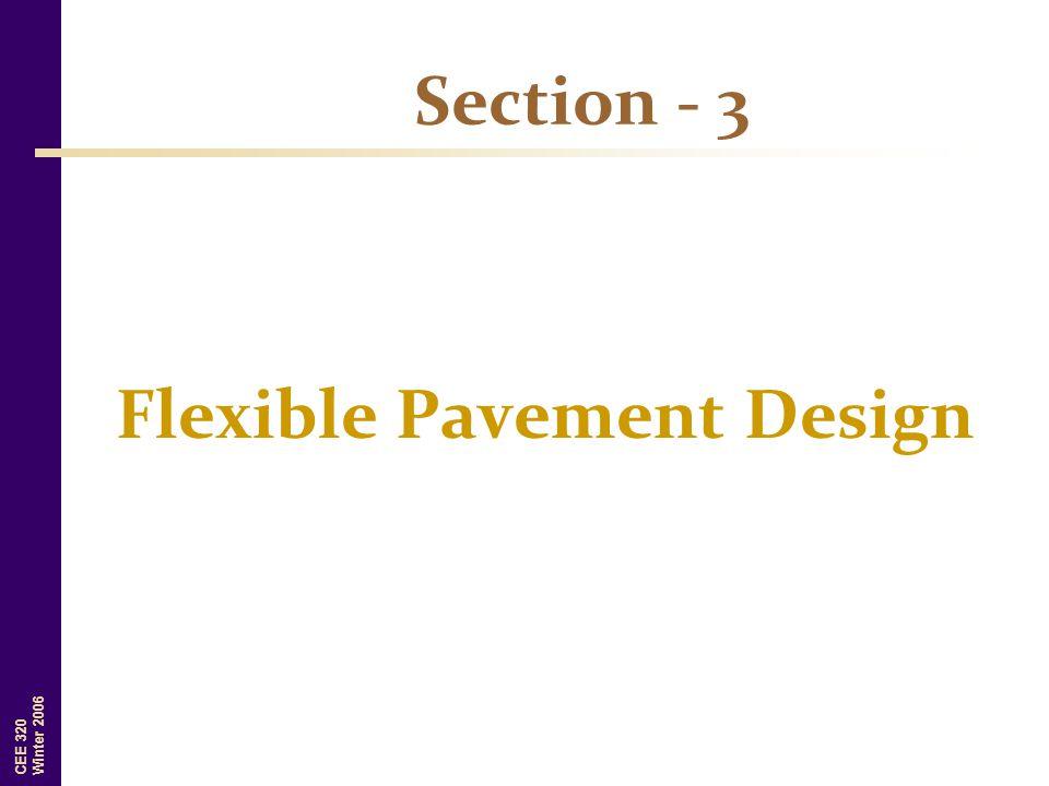 Section - 3 Flexible Pavement Design