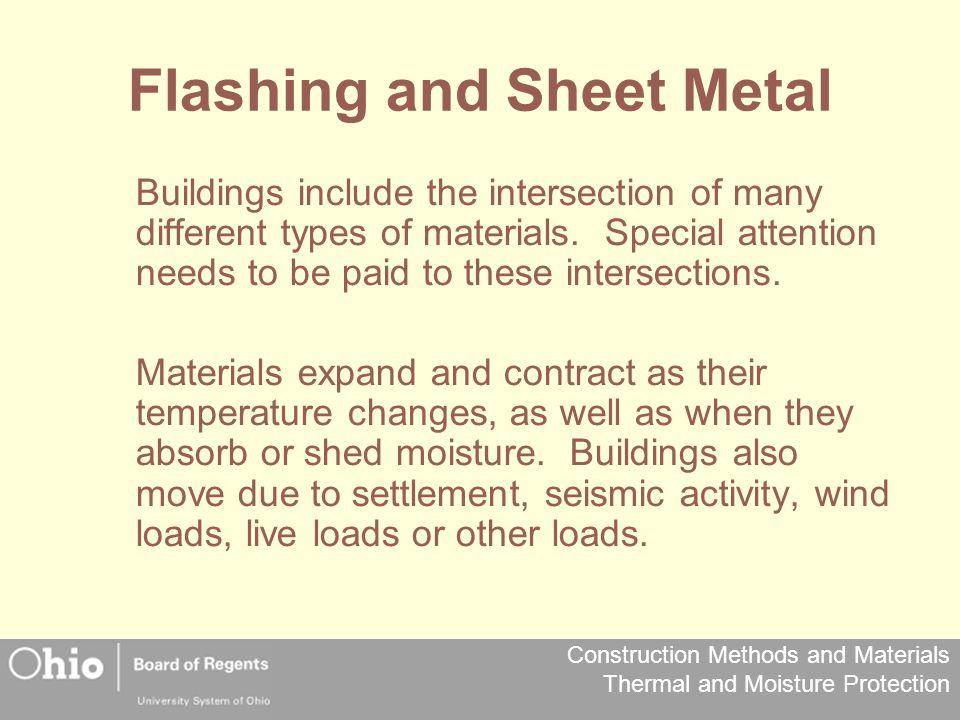 Flashing and Sheet Metal