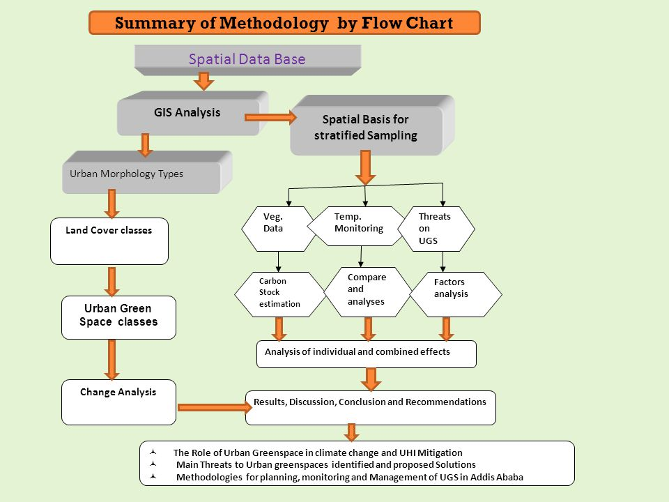 Summary of Methodology by Flow Chart