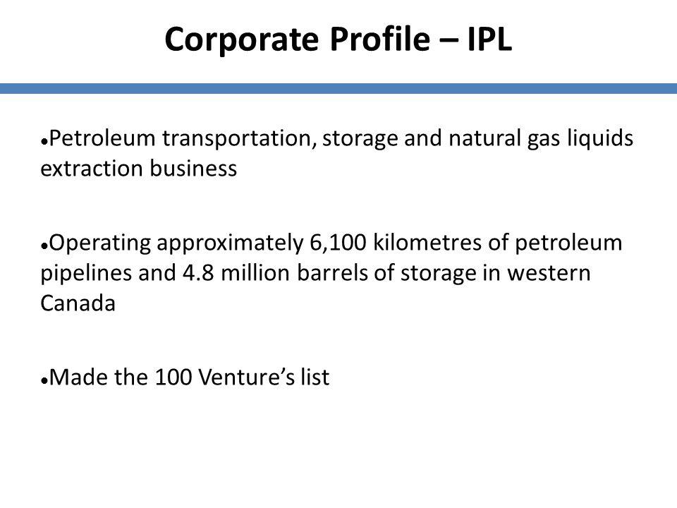 Corporate Profile – IPL
