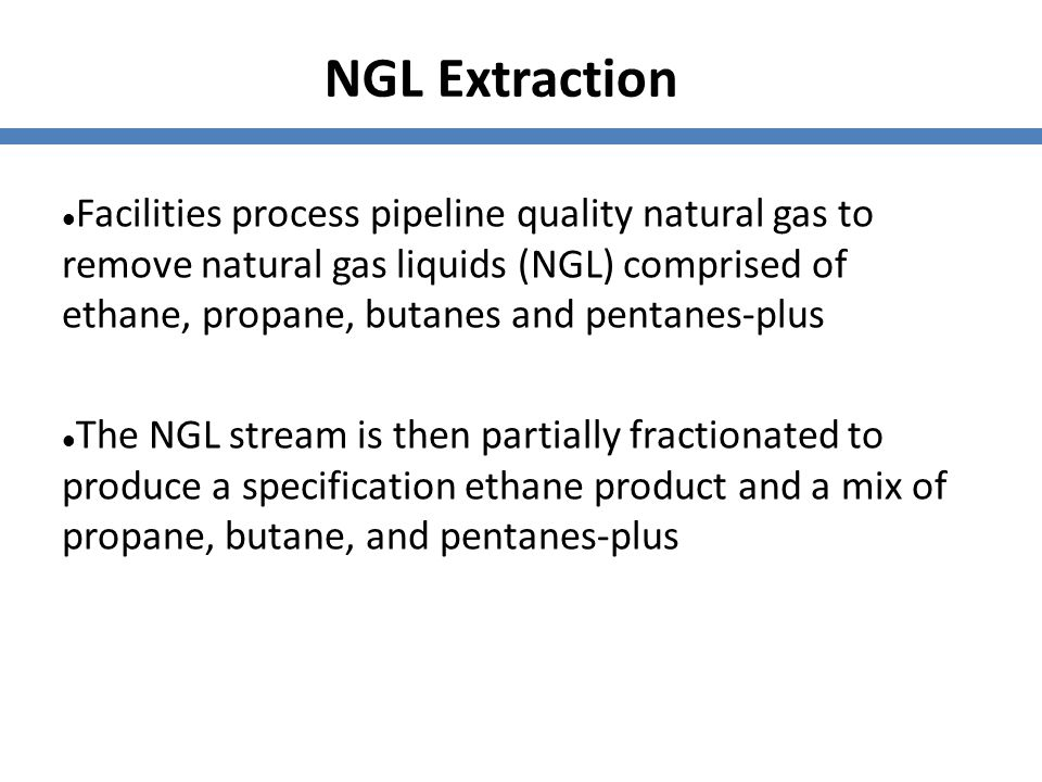 NGL Extraction
