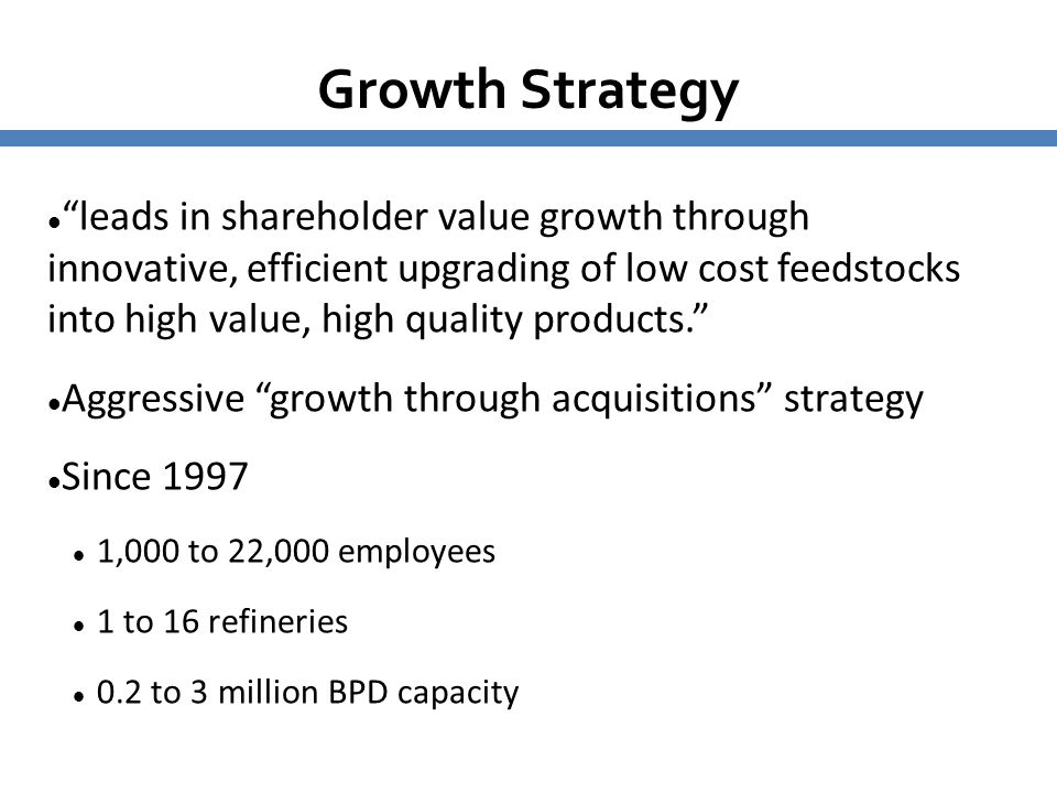 6161 Growth Strategy.