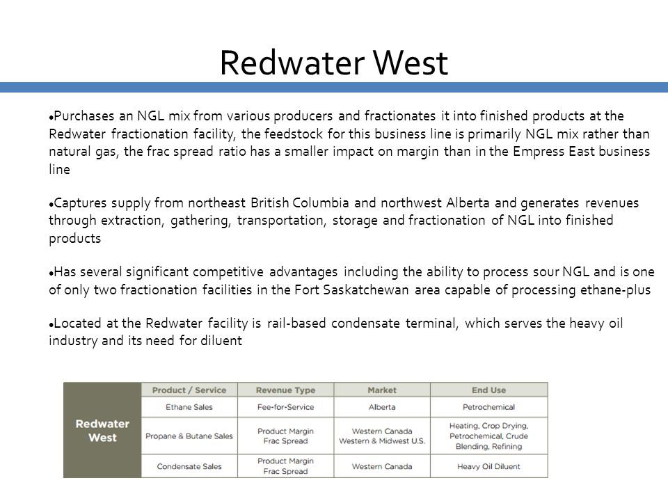 Redwater West