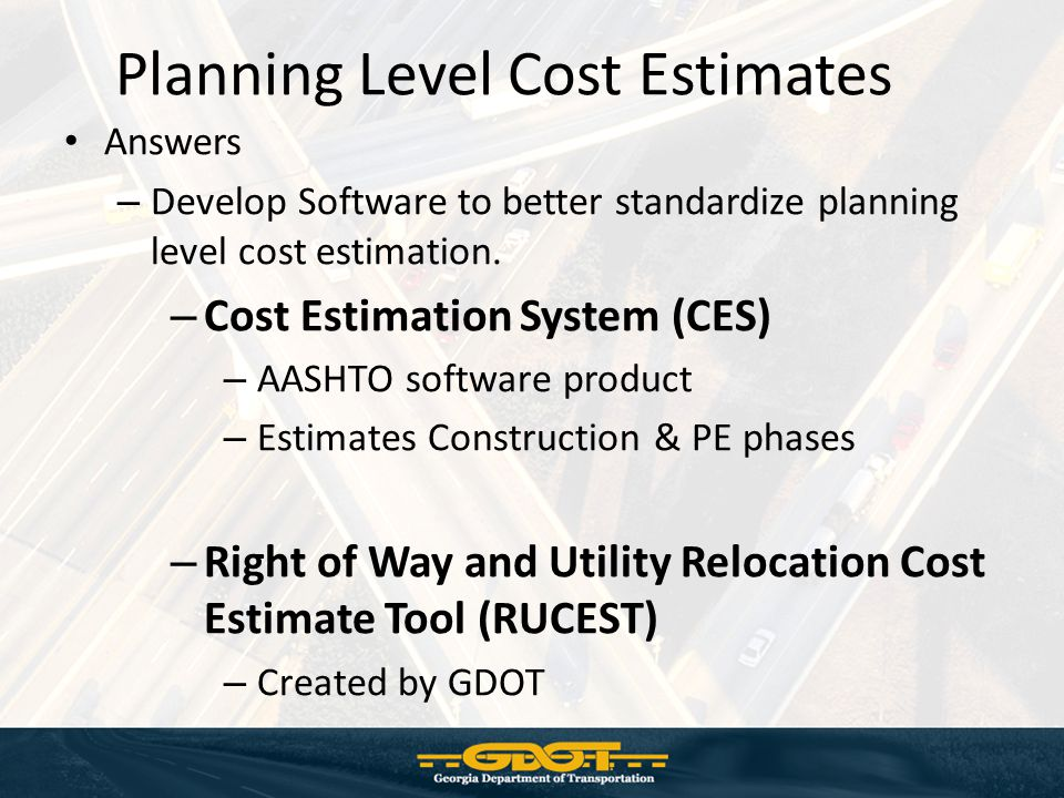 Cost estimation system tool ppt video online download Online construction cost estimator