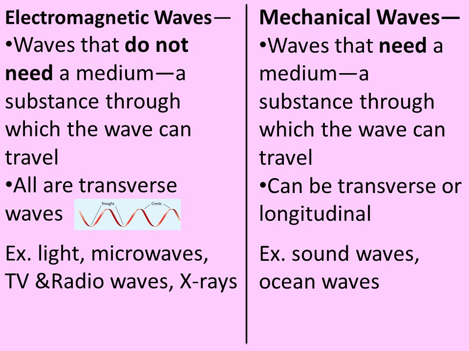 All are transverse waves