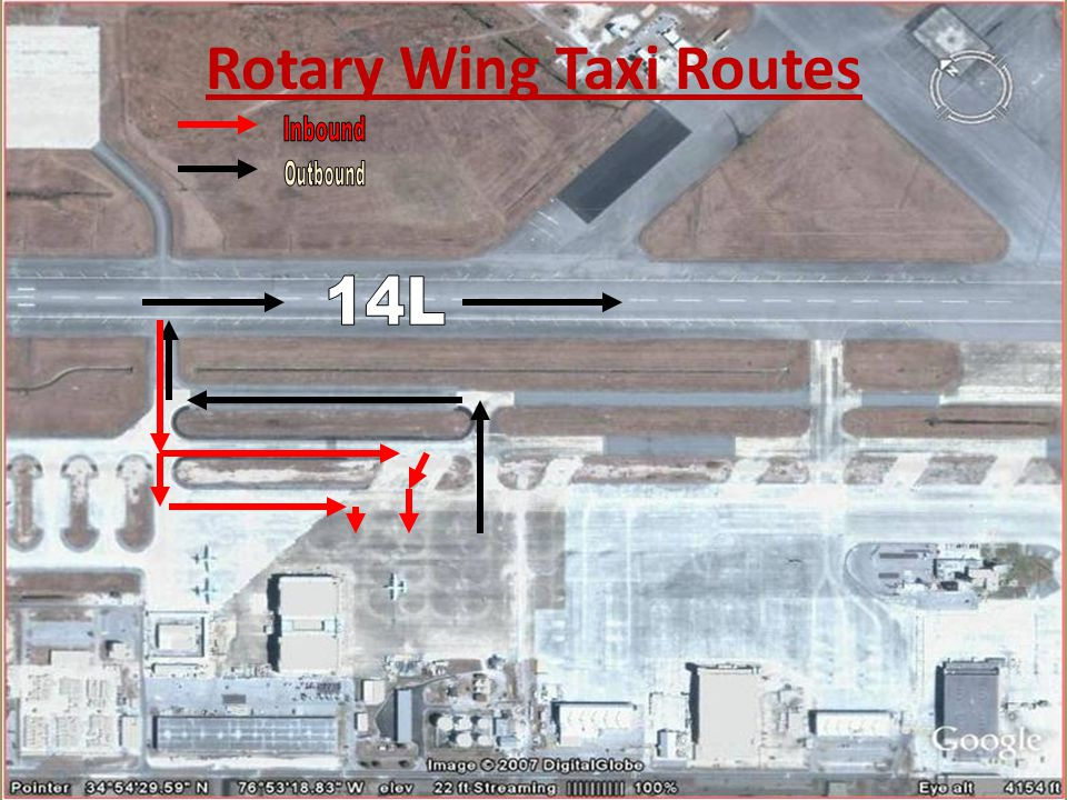 Rotary Wing Taxi Routes