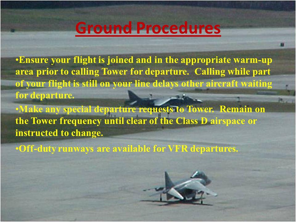 Ground Procedures