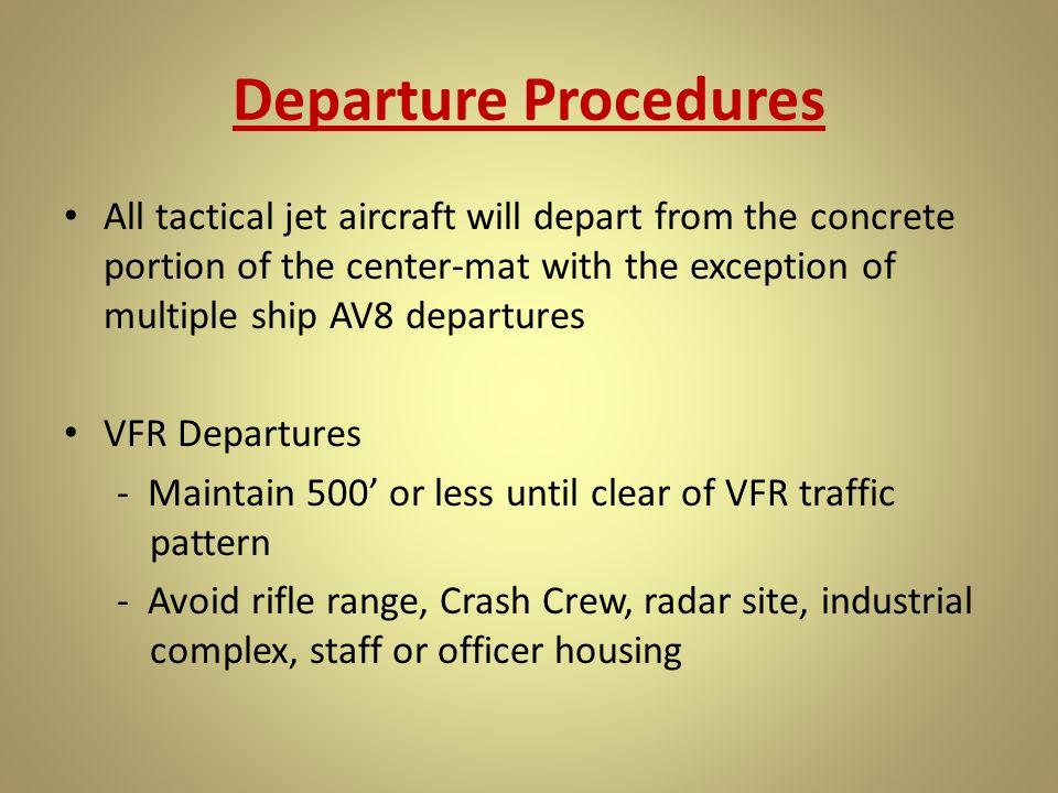 Departure Procedures