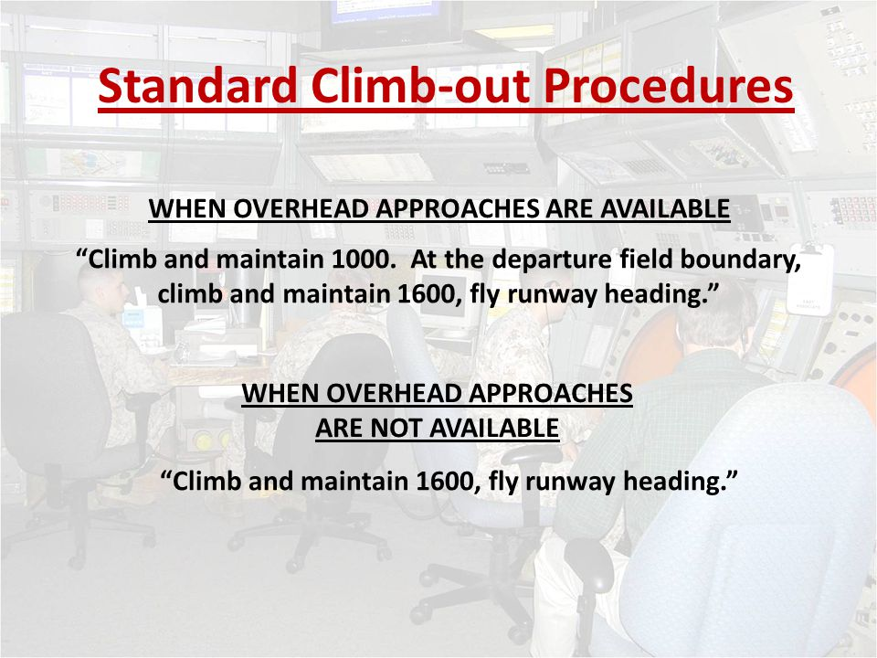 Standard Climb-out Procedures