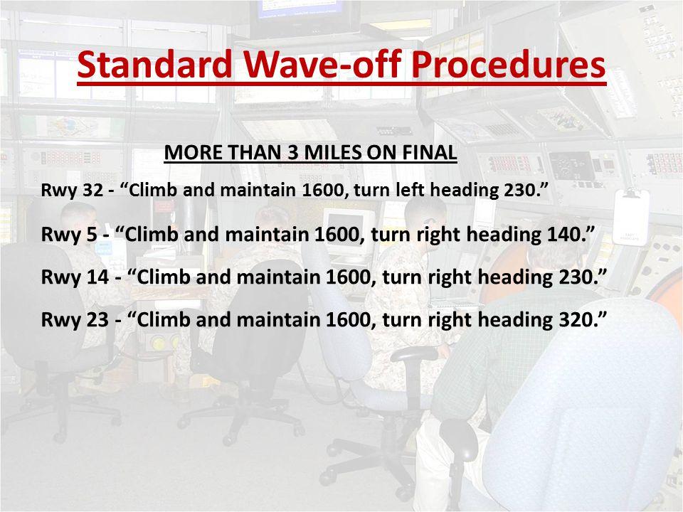 Standard Wave-off Procedures