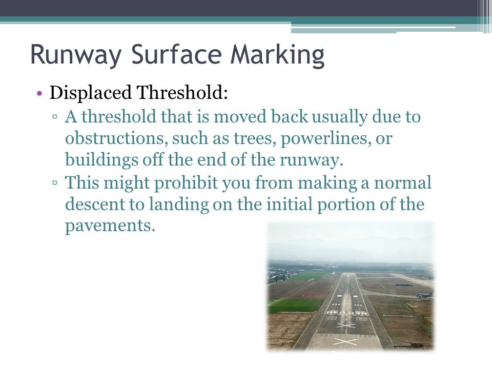 Runway Surface Marking