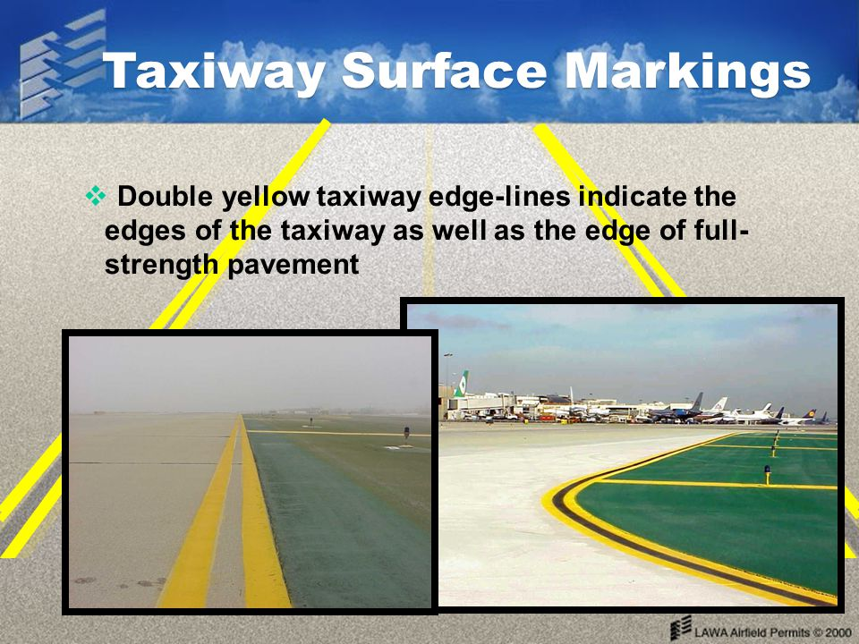 Taxiway Surface Markings