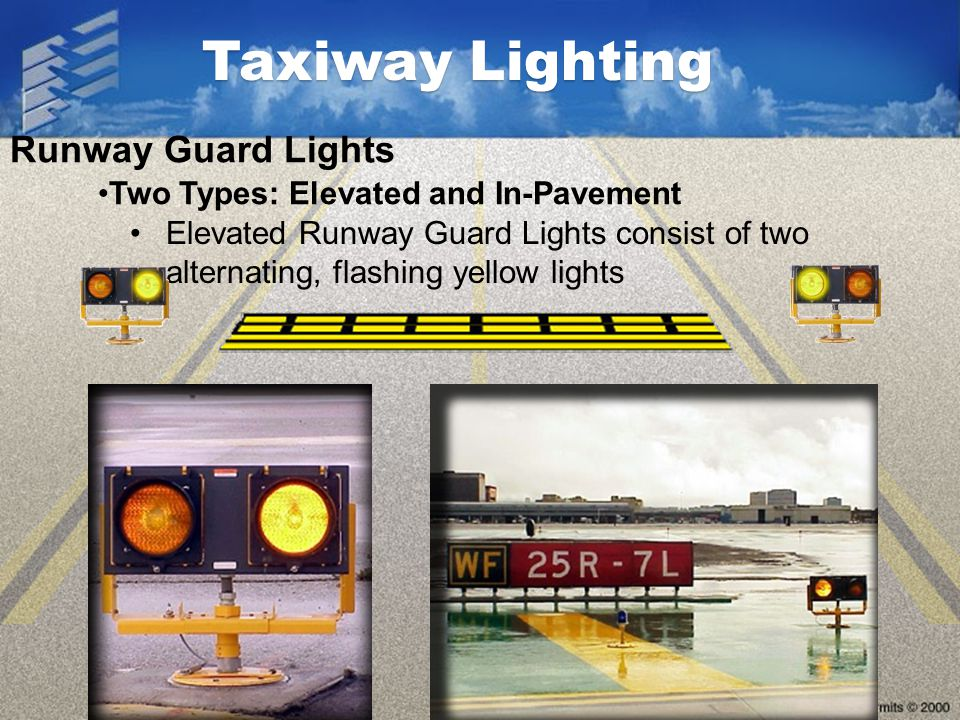 Taxiway Lighting Runway Guard Lights