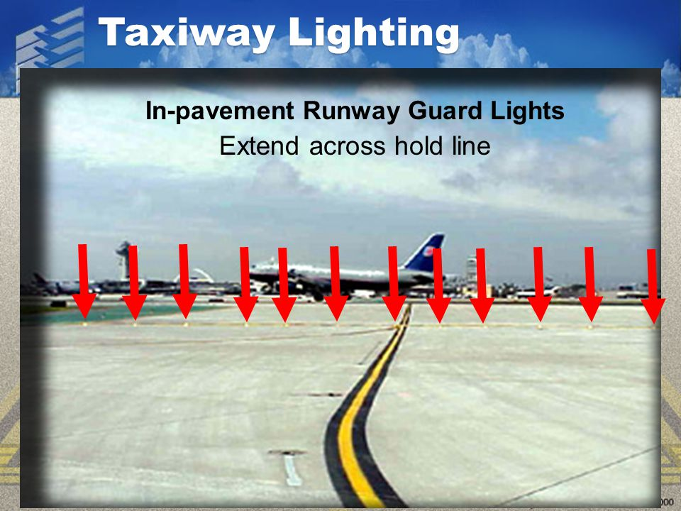 In-pavement Runway Guard Lights