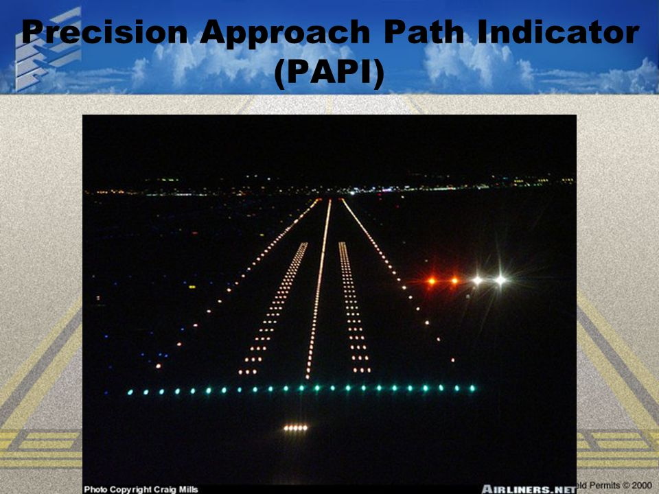 Precision Approach Path Indicator (PAPI)