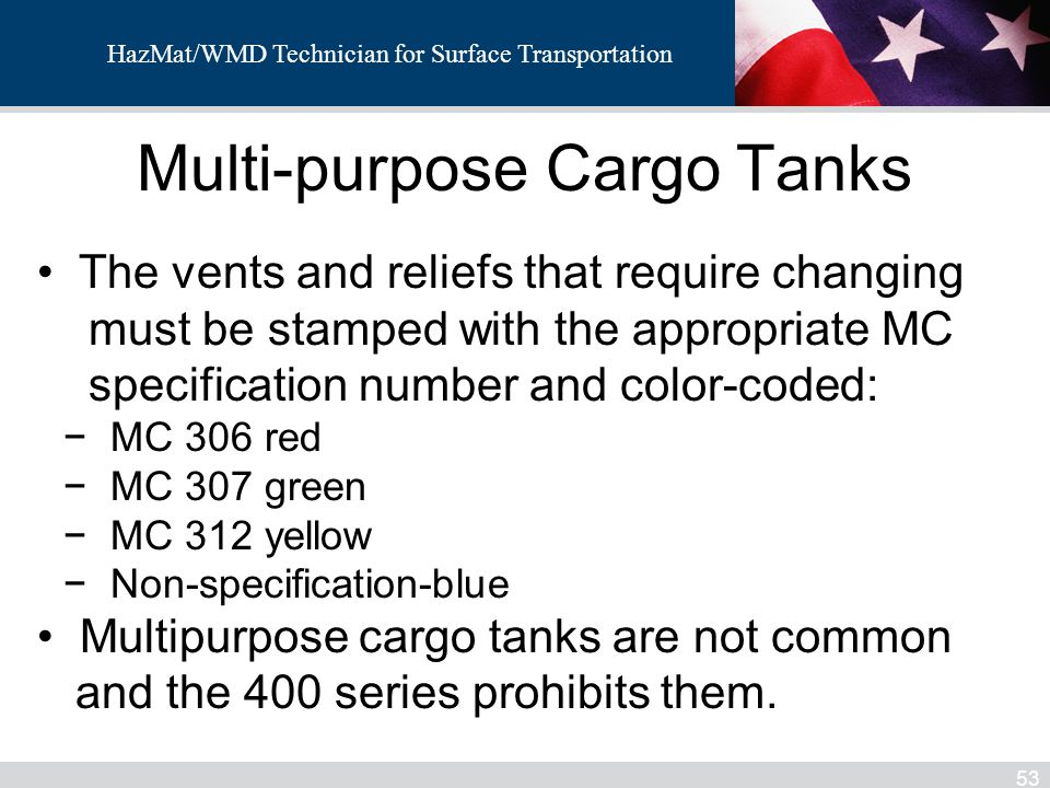 Multi-purpose Cargo Tanks