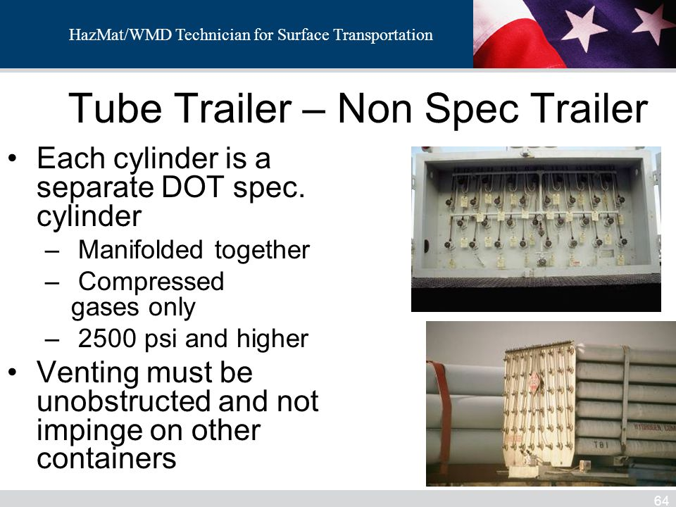 Tube Trailer – Non Spec Trailer