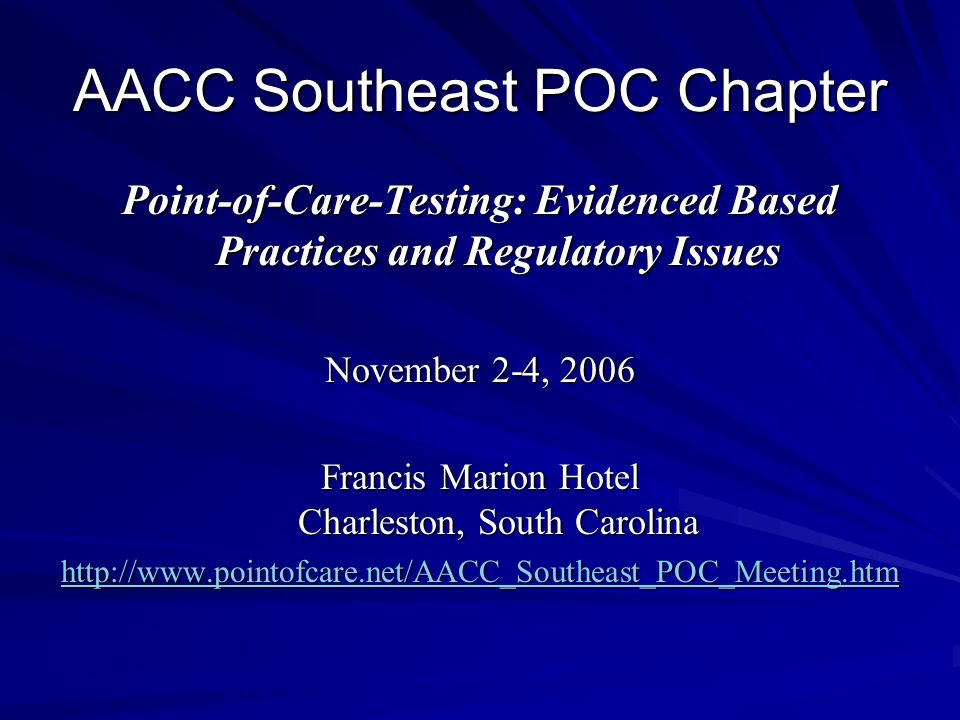 AACC Southeast POC Chapter