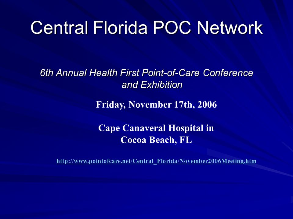 Central Florida POC Network
