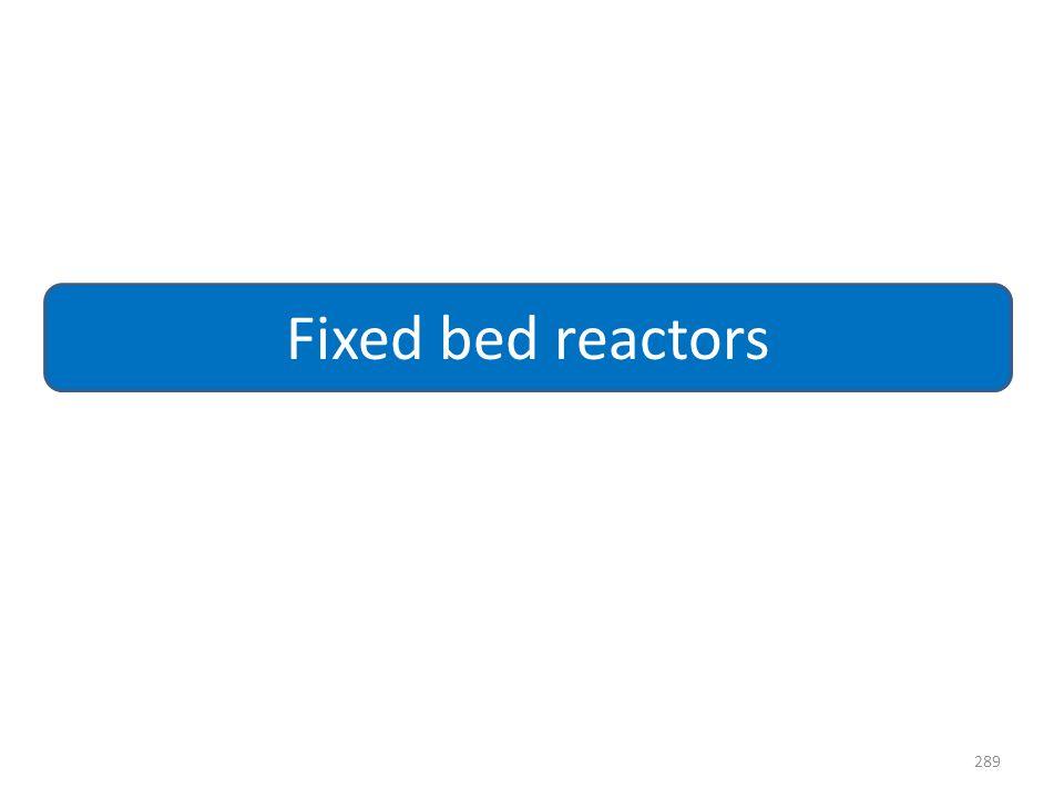 Fixed bed reactors