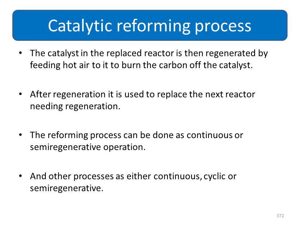 Catalytic reforming process