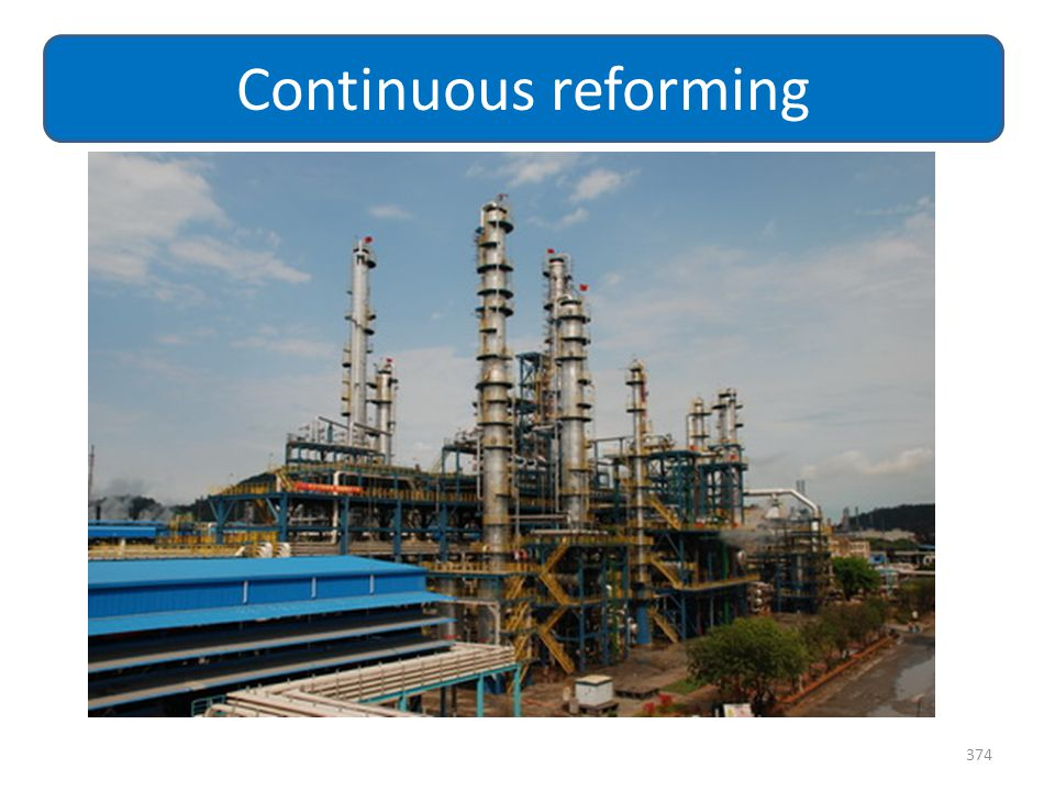 Continuous reforming