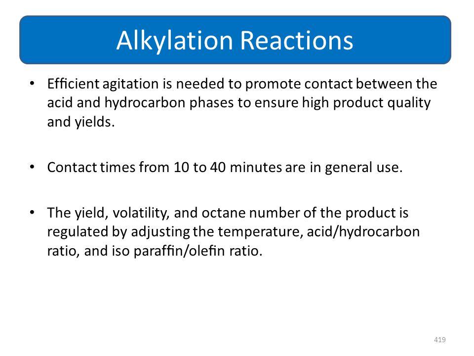 Alkylation Reactions