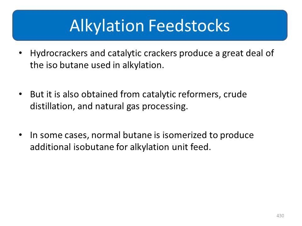 Alkylation Feedstocks