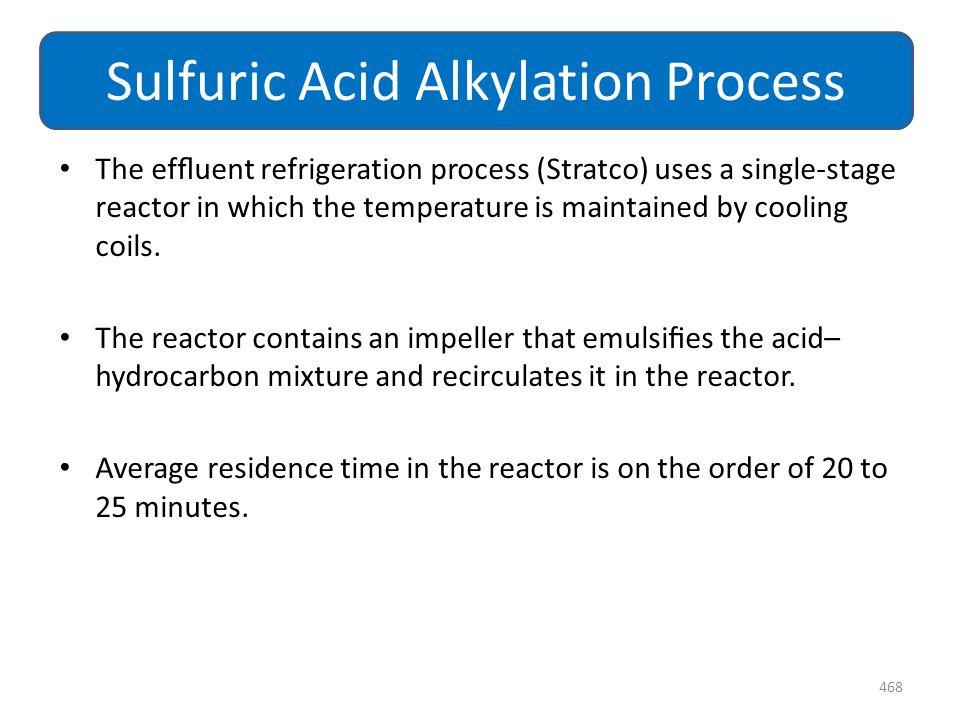 Sulfuric Acid Alkylation Process