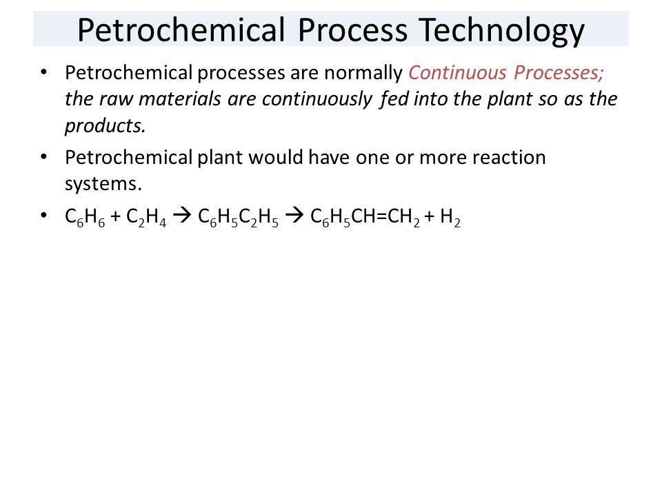 Petrochemical Process Technology