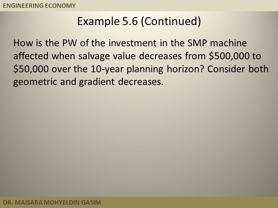 Example 5.6 (Continued)
