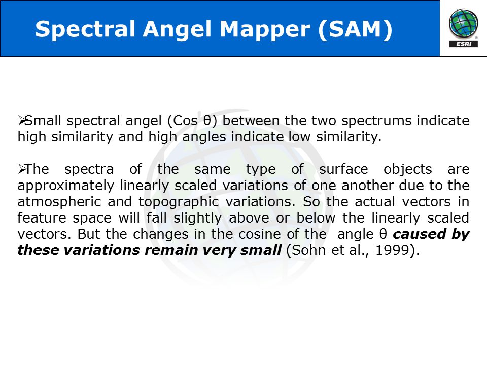 Spectral Angel Mapper (SAM)